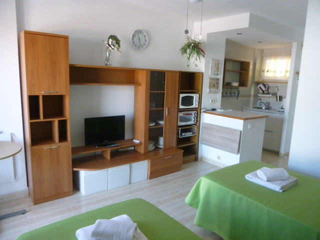 Holiday studio apartment in IRIS, Benalmádena. VFT/MA/10132