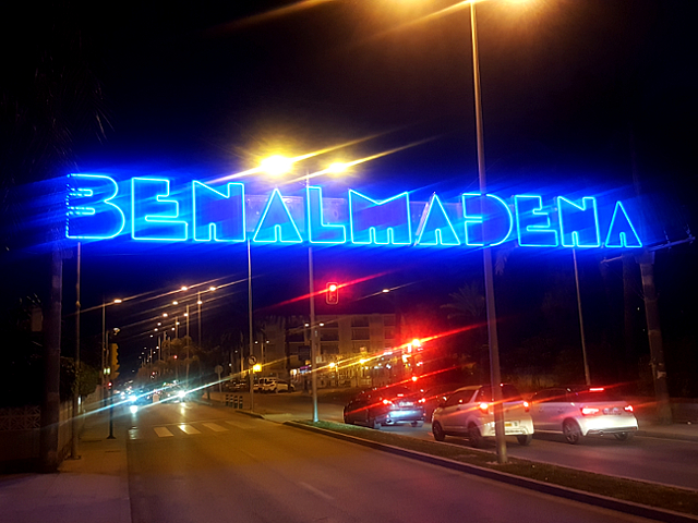 Benalmadena Sign